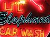 Li'l Elephant Car Wash by Vintage Roadside