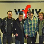 Lee Rocker at WFUV with Darren DeVivo