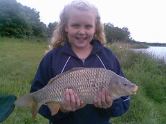 A nice Common from Moss Lake for 10yr old Rachel.