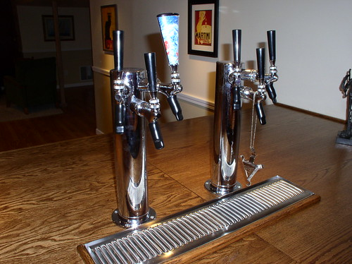 Building a kegerator in my basement bar from scratch for How to build a home bar from scratch