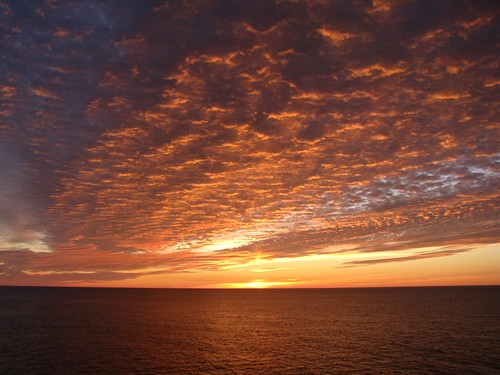 Bering Sea Sunset by im me