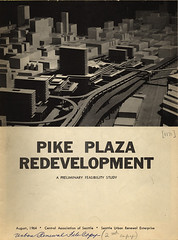 Pike Place Market urban renewal study, 1964