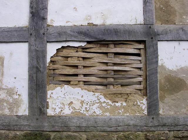 Wattle And Daub Medieval Wattle Amp Daub Wall Weald