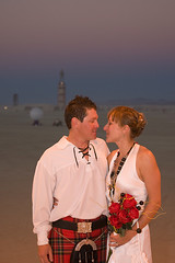 Wedding at Burning Man