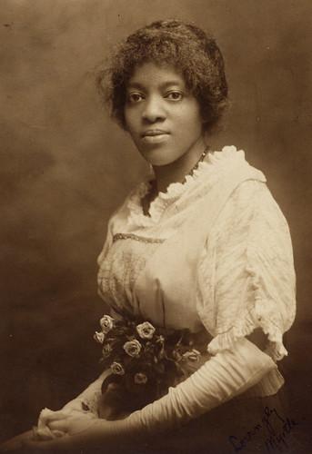 Modern victorian woman