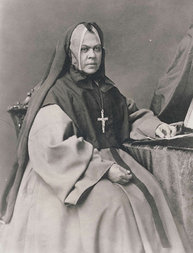 A photograph of Mother Elizabeth Bruyère