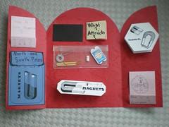 magnets lapbook inside