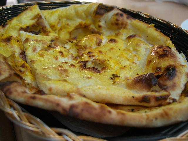 Garlic Naan - Northern Indian, Palms Food Court AUD3 | Flickr - Photo ...