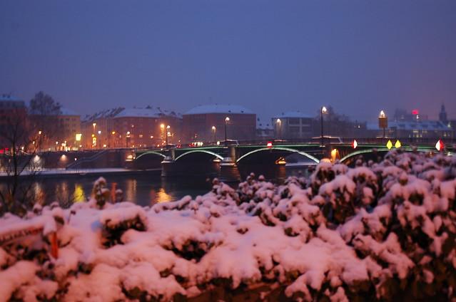Schnee in Frankfurt (05.01.09)