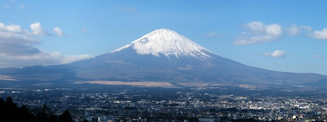 Mount Fuji / 富士山 from Flickr via Wylio