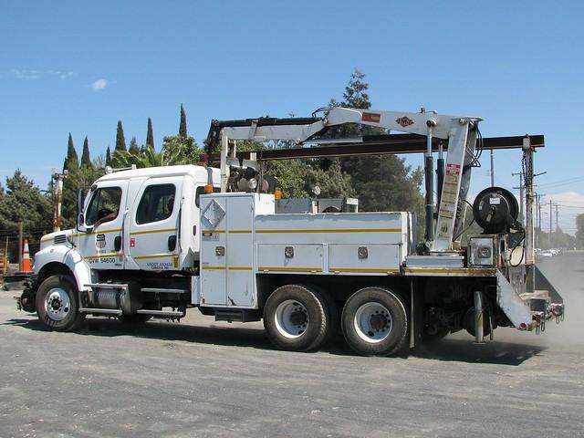 Freightliner Trucks For Sale >> Union Pacific 64183 Freightliner Hi-Rail Boom Truck 7   Flickr - Photo Sharing!