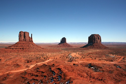 """Mittens"" in Monument Valley"