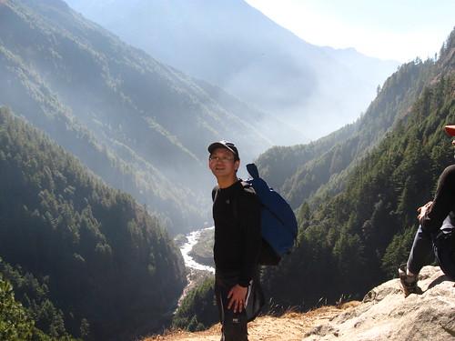 Long Climb to Namche