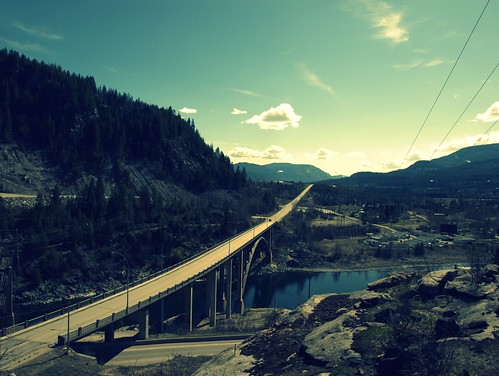 Brilliant Bridge on the Kootenay River