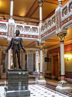 Hartford  ~ Connecticut ~ Connecticut State Capitol ~ Interior Statue