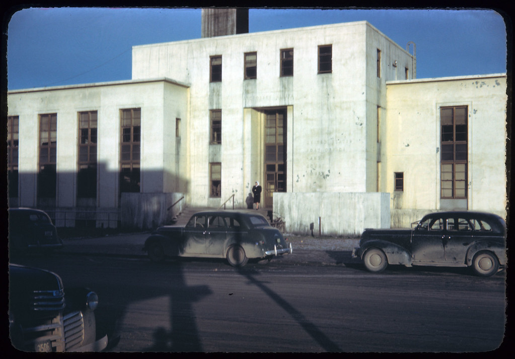 1945 07 Federal Bldg Anchorage Fall 1945