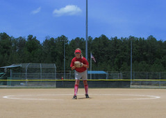 soft tennis(0.0), softball(1.0), sport venue(1.0), sports(1.0), competition event(1.0), baseball field(1.0), bat-and-ball games(1.0), ball game(1.0), baseball(1.0),