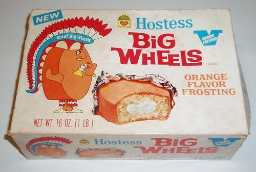 Orange Big Wheels
