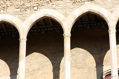 monastery(0.0), baluster(0.0), temple(0.0), vault(0.0), aisle(0.0), crypt(0.0), symmetry(1.0), arch(1.0), ancient history(1.0), building(1.0), architecture(1.0), arcade(1.0), column(1.0),