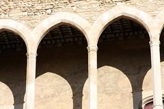 symmetry, arch, ancient history, building, architecture, arcade, column,