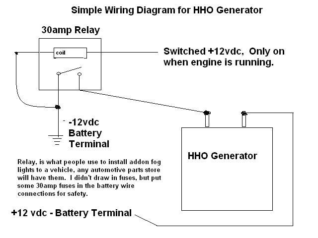 Hho 12v Relay Wiring Diagram. Air Compressor Wiring Diagram ...  V Power Wheels Wiring Diagram Basic on