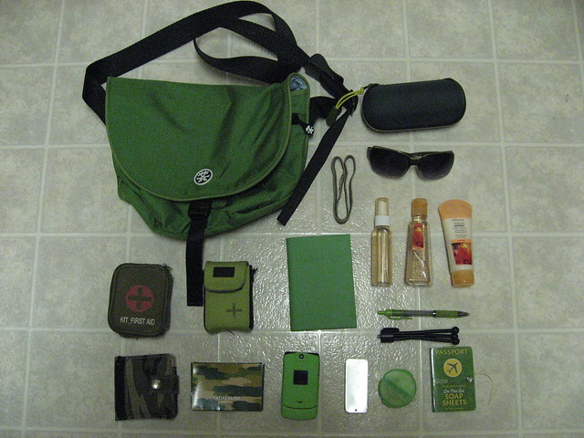 my crumpler quarfie all packed for my vacation