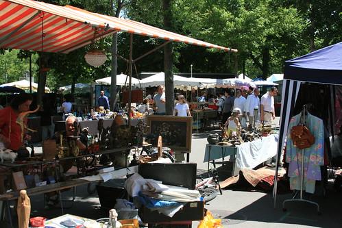 Burkliplatz Flea Market: Zurich