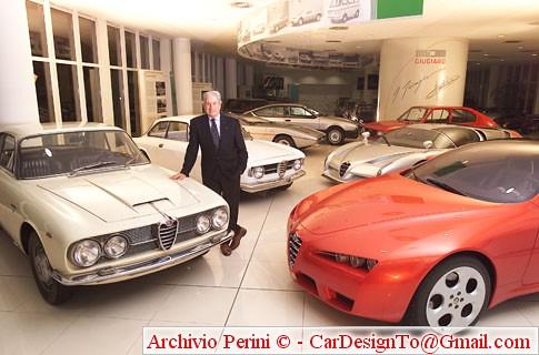 GG + his Alfa Romeo