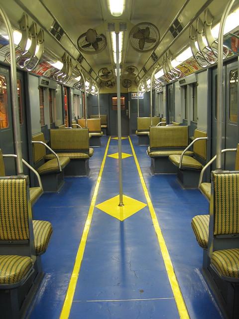 old subway cars interiors flickr photo sharing. Black Bedroom Furniture Sets. Home Design Ideas