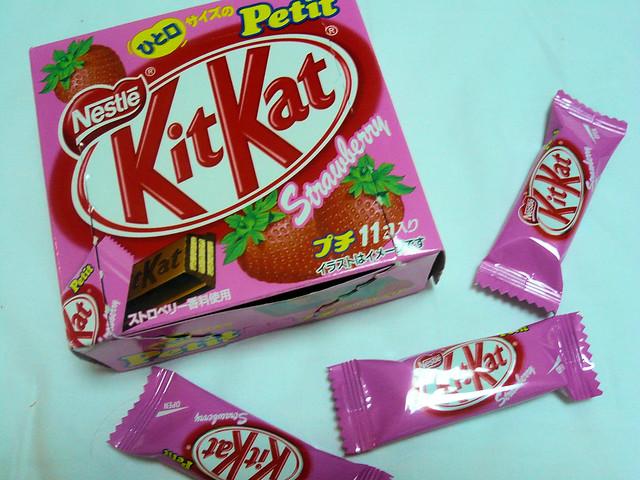 KitKat Strawberry | Flickr - Photo Sharing!