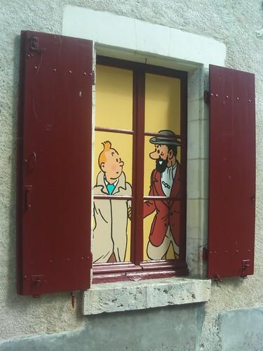 2008.08.07.416 - CHEVERNY - Les secrets de Moulinsart
