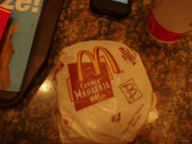 how to eat maharaja mac