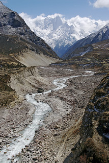 Valley of the Bhote Kosi, Nepal