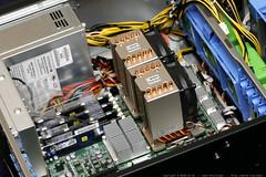 dual socket 771 active heatsinks installed    MG 1452