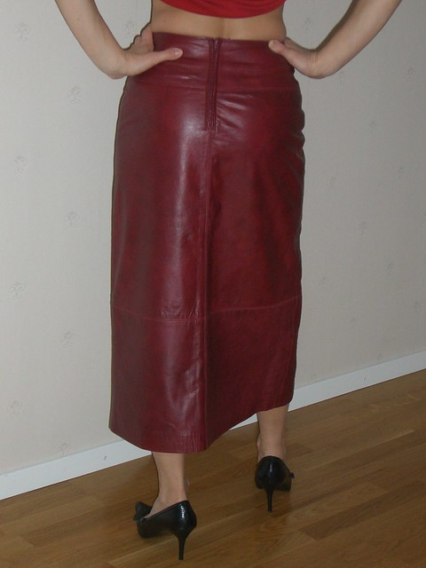 leather skirt flickr photo