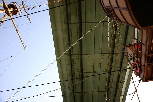 @ 帆船型觀光船Santa Maria 観光船サンタマリア