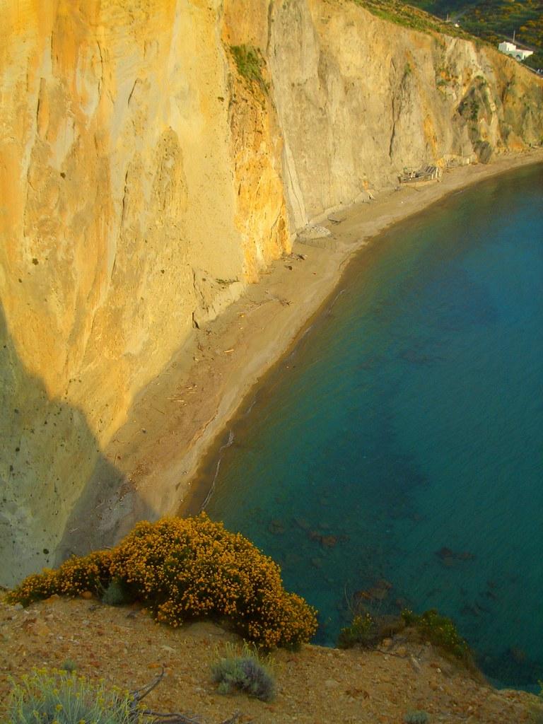 Chiaia di Luna beach, Ponza island