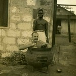 Untitled .Cooking pot charade, Bo ?  Sierra Leone  c1944