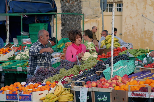 Market Day; Marsaxlokk