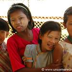 Group of Burmese Girls - Toungoo, Burma