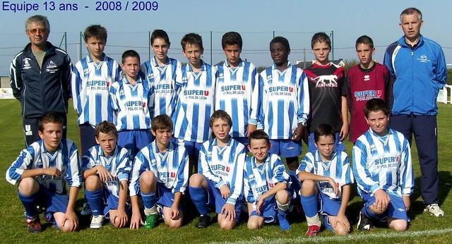 Roscoff - Paotred Rosko - 13 ans 2008 / 2009