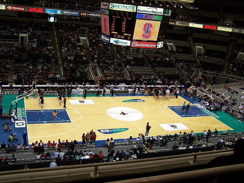 HP Pavilion - Basketball