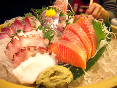 Day 030 / 刺身盛り slices of raw fish