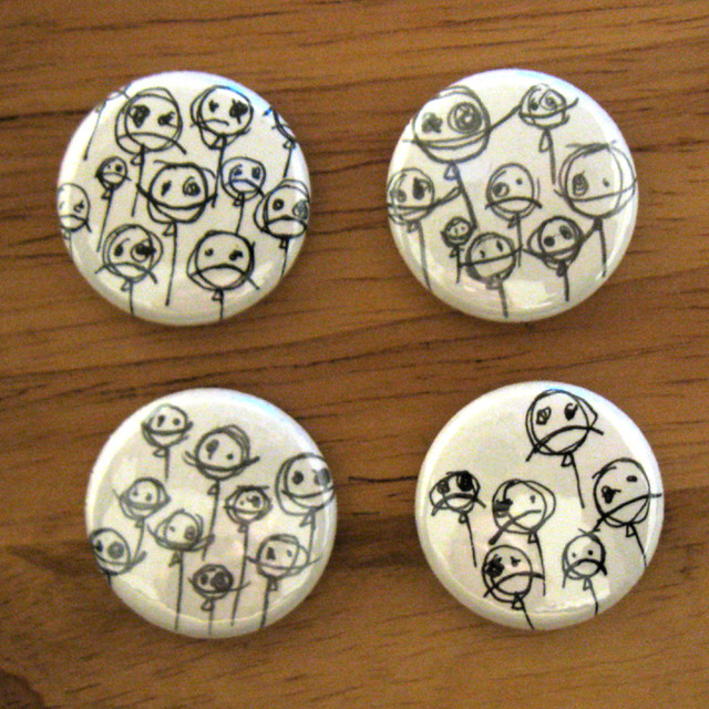 balloon buttons