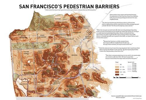 thinking about walking in San Francisco (by: Yo-Shang Cheng, UC-Berkeley)