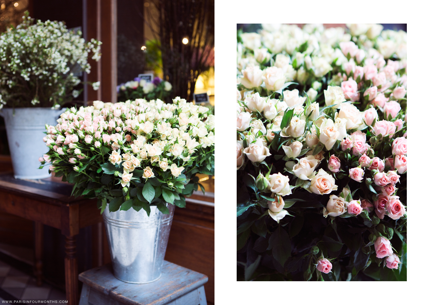 Parisian flower shop by Carin Olsson (Paris in Four Months)