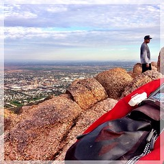 #camelback via #echo #canyon in 32 min. I'm gonna call that a good #workout