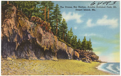 The Ovens, Bar Harbor, Acadia National Park, Mt. Desert Island, Me.