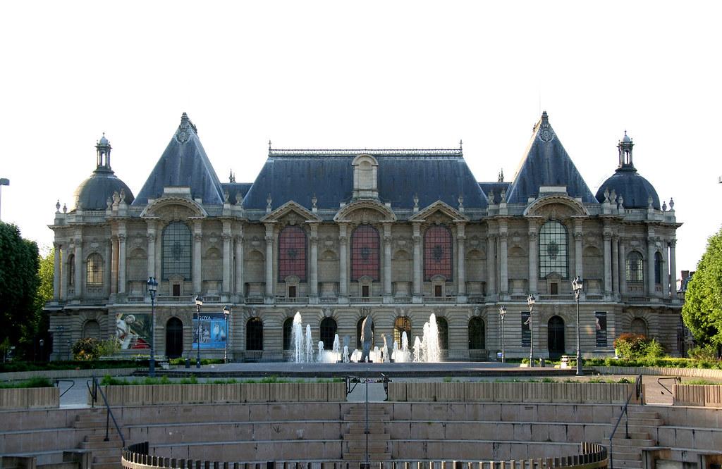 Palais des Beaux Arts de Lille, the largest museum outside of Paris