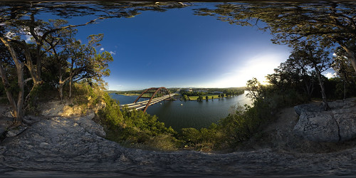 panorama austin texas 360 lakeaustin 360bridge pennybackerbridge canon30d explored sigma10mm